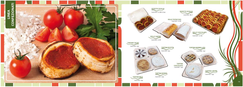 dolci confezionati e pasticceria salata